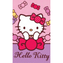 towel for nursery 40x60 hello kitty coton