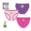 set of briefs 3 pack Fairies Fairies Disney 2-8 ye