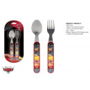 Cutlery set 2pcs fork spoon Cars Disney