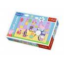 Peppa puzzle 60 elements Peppa's pig at the ba