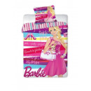 bed linen 160x200 70x80 Barbie coton