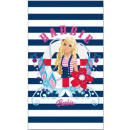 towel Barbie strips 120x70 coton cheap