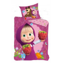 bed linen Masha and the Bear 027 140/200 + 70/80