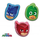Pillow PJ masks shaped 3 patterns