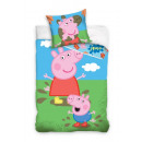 Bedding 140x200 70x90 cotonPeppa Pig