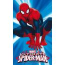 Spiderman towel 30x50 coton for kindergarten