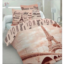 bed linen paris 160x200 70x80x2 coton