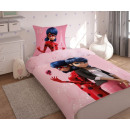 Miraculous bedding, Ladybug and a black cat 140x20
