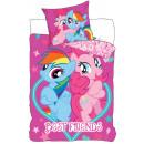 bed linen 140x200  70x80 My Little Pony coton