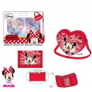 Minnie Mouse set for gift wallet purse