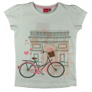 wholesale Childrens & Baby Clothing:T-Shirt GIRLS bike white