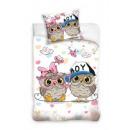U & Me bedding owl owl 160x200 70x80 coton