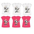 T-Shirt FILLES  Disney Minnie petit paquet