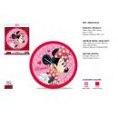 wholesale Clocks & Alarm Clocks:Wall clock Minnie 25 cm