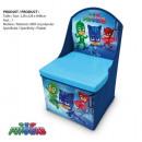 Contenitore per i giocattoli pouf PJMASK