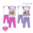 wholesale Nightwear: pyjamas 3/4 Paw Patrol coton 3-6lat