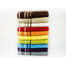 towel bath 140x70 100% coton D red