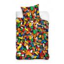 Youth bedding blocks 140x200 70x80 coton