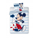 BEDDING KPL. Mickey MOUSE 076 100X135 + 40X60 BAW.