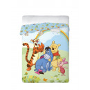 Bedspread 160x200 coton Winnie the Pooh meadow