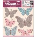 grossiste Stickers mureaux: Décoration murale 3D - Papillons 2