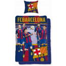 drap FC Barcelona 160x200 70x80 coton