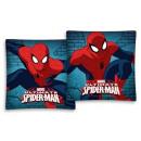 colcha edredón almohada Spiderman 40x40 de microfi