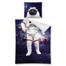 Großhandel Spielwaren: Bettwäsche Jugend My Hero 160x200 70x80 Cosmonaut