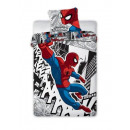 bed linen Spiderman 140x200 70x90 coton