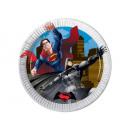 Platen verjaardag Batman vs Superman - 20 cm