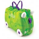 TRU-R066 Reiten  ein Koffer für ein Kind