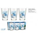 set van glazen  frozen Olaf Snowman 237ml