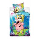 bed linen Sponge Bob 140x200 70x90 coton