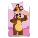 Bedding 140x200 70x80 coton Masha and the Bear