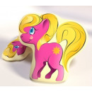 Pillow shaped My Little Pony toy