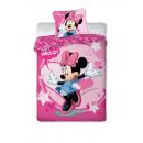 drap Minnie 02  souris Disney 160/200 + 70/80
