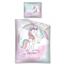 wholesale Haberdashery & Sewing: Youth bedding 140x200 70x80 unicorn flash