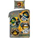 Bettwäsche LEGO Nexo Ritter 140x200 70x90 100% Bau
