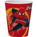 Glass Spiderman 3D 350 ml Disney