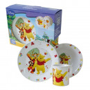 Frühstück Set 3  Artikel Winnie the Pooh