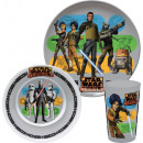 Set of Star Wars Rebels 3 - piece Disney