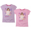 T-Shirt GIRLS Disney Violetta 122-152 2KOLORY