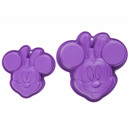 Minnie silicone purple 2 pcs. Disney