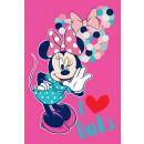 toalla 50x90  Disney ratón Minnie 100% algodón