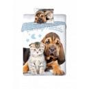 Großhandel Haushalt & Küche: Bettwäsche BF (12) Hund Katze 140x200 70x90 100% B