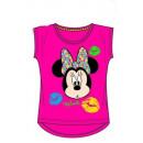 T-Shirt Minnie Mouse Disney donker roze 3-8 jaar