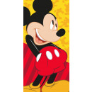 groothandel Home & Living: handdoek 140x70 Mickey Mickey surfen