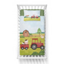 Bedding baby 135x100 40x60 farm tractor