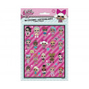 LOL SURPRISE stickers, 4 sheets