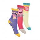 wholesale Licensed Products: Sock socks Peppa Pig 3pack 31/34 stock